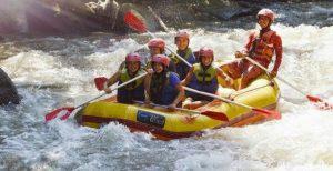 Mount Batur Sunrise Trekking and Ubud White Water Rafting